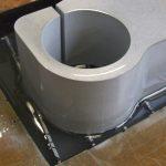 kroonplaat 70mm aluminium